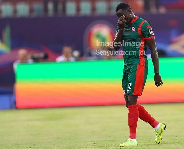 AFCON 2019: BURUNDI's Christophe NDUWARUGIRA sent off