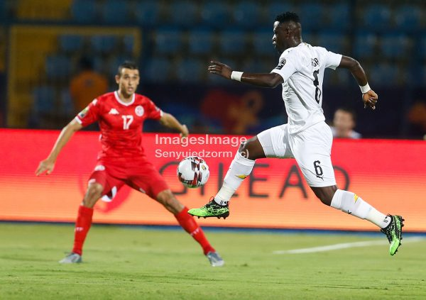 AFCON2019: GHANA-TUNISIA playing 1-1 in Ismailia