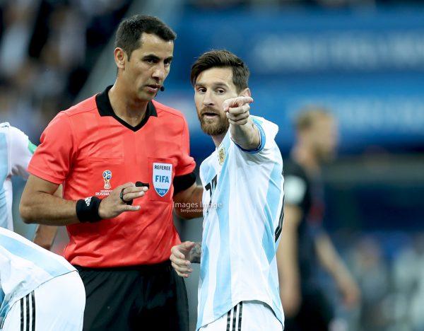 FIFA 2018 World Cup: Argentine  vs Croatia