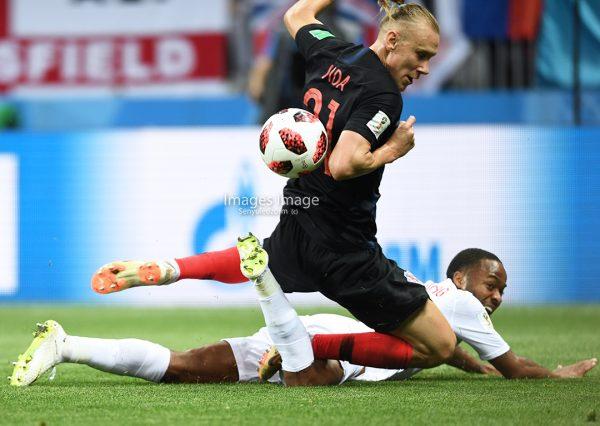 FIFA 2018 World Cup;  Croatia vs England