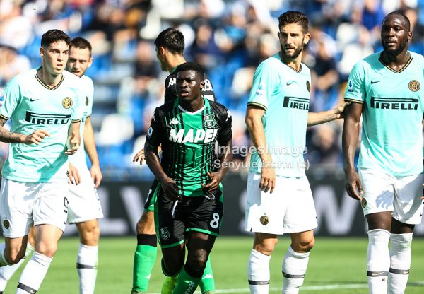 Serie A Sassuolo 3-4  Inter